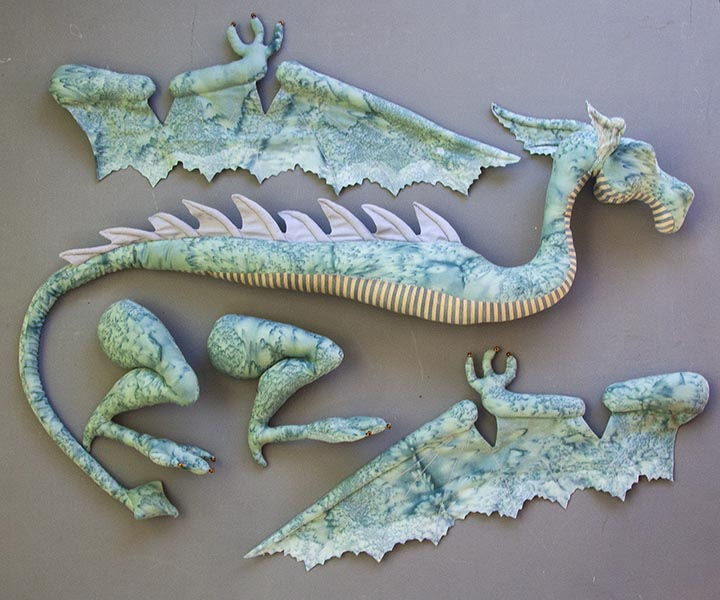 Poseable Dragon - A Creative Journey - Tutorials - Antique Lilac