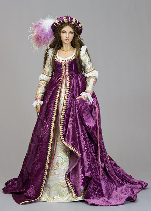 Renaissance EID Gowns - Tutorials - Antique Lilac